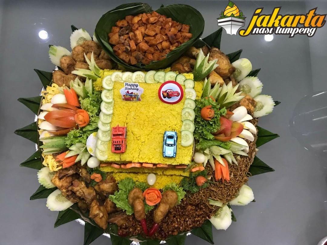 Pesan Nasi Tumpeng Terbaik di Ragunan