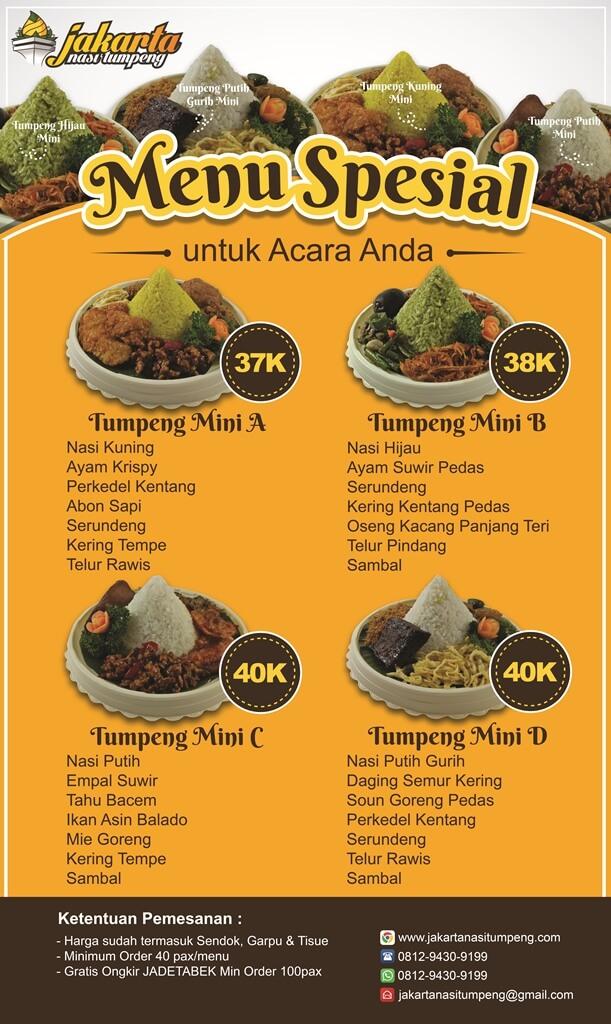 Jual Tumpeng Mini Jakarta