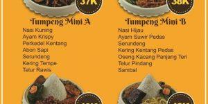 Pesan Nasi Tumpeng Mini di Bekasi