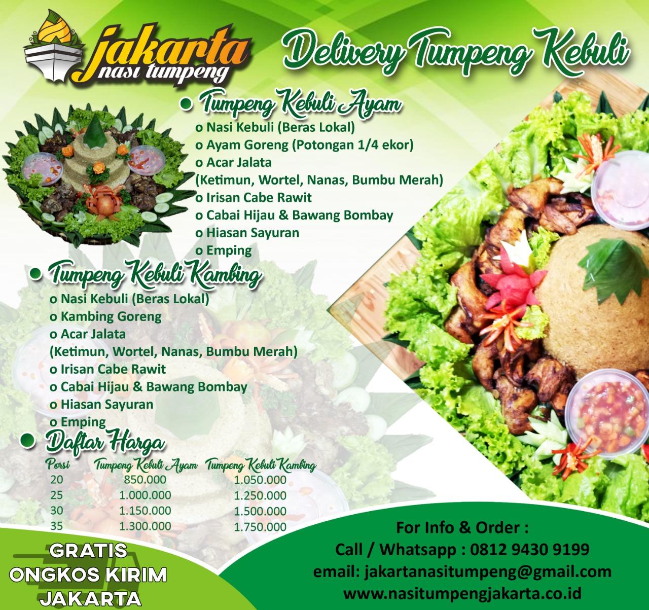 Tumpeng Kebuli Jakarta