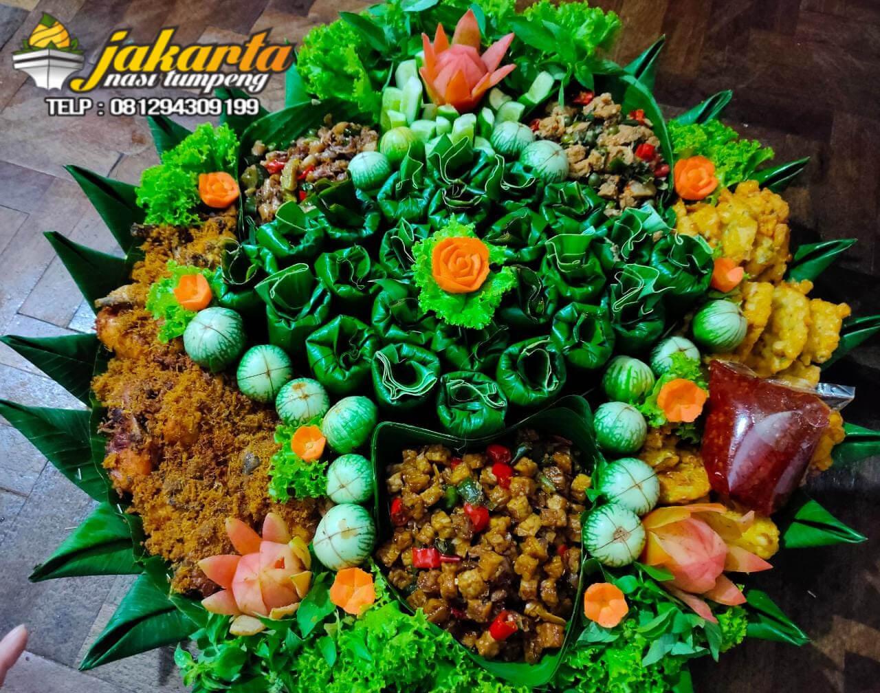 Pesan Nasi Timbel Nampah di Jakarta